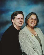 Shawn K. Hall with wife, Annette